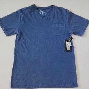 First Wave Blue Mineral Boys V Neck shirt